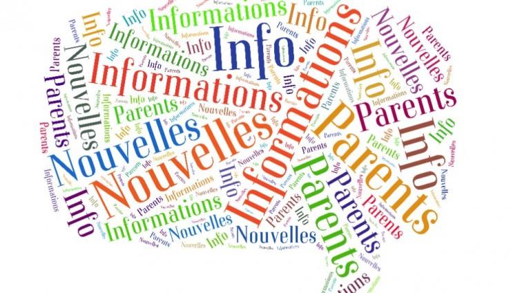 Info-Parents mars et avril 2015