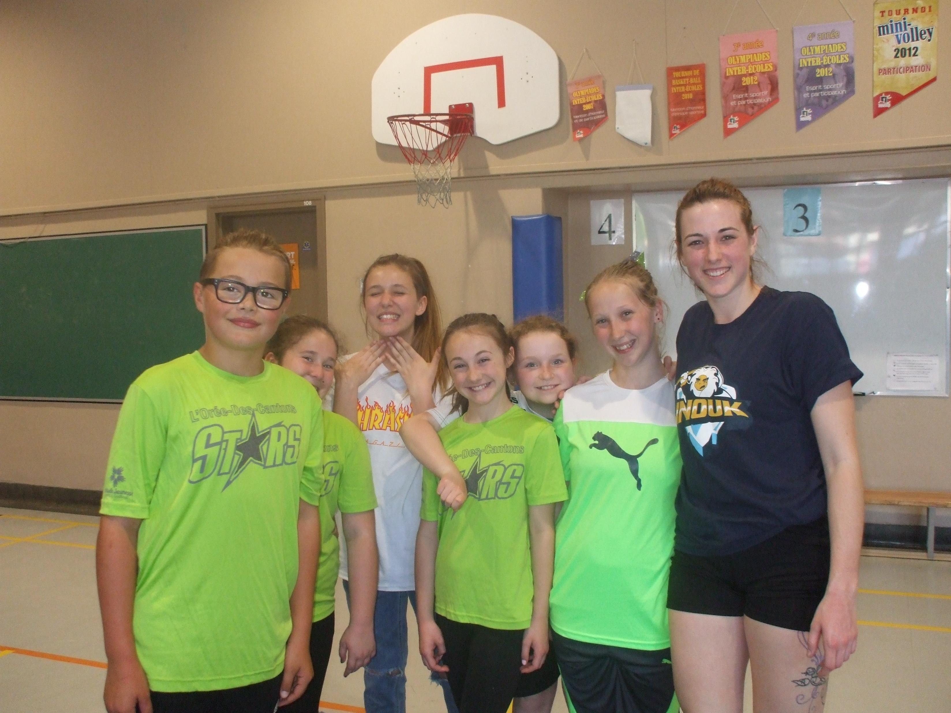 Visite des Inouk pour les Stars de notre école!