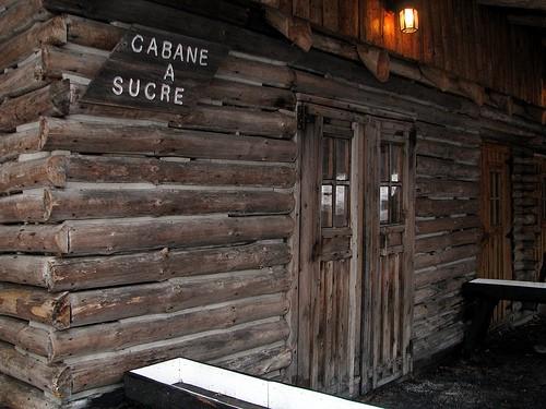 Journal! Suite au temps des sucres : un article sur la cabane à sucre :)