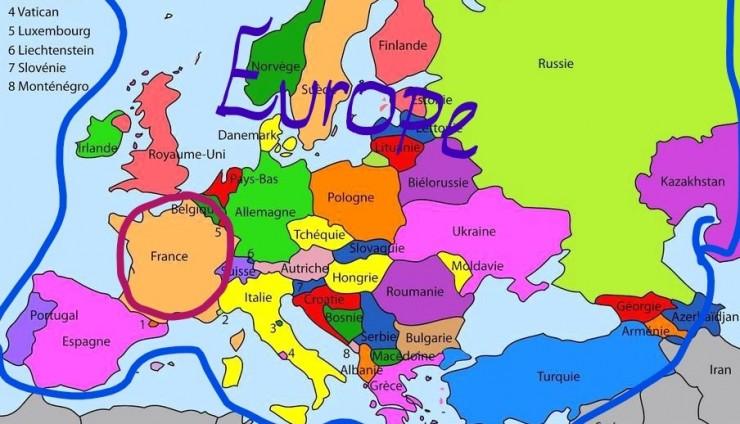 Journal! Rubrique géographie : Clothilde nous parle de la France.