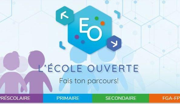 """Site Web """"École Ouverte"""""""